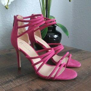 Nicole Miller Pink Heels